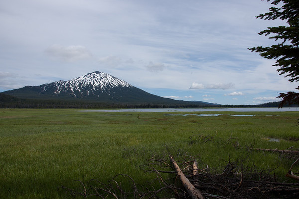sparks lake and mt bachelor