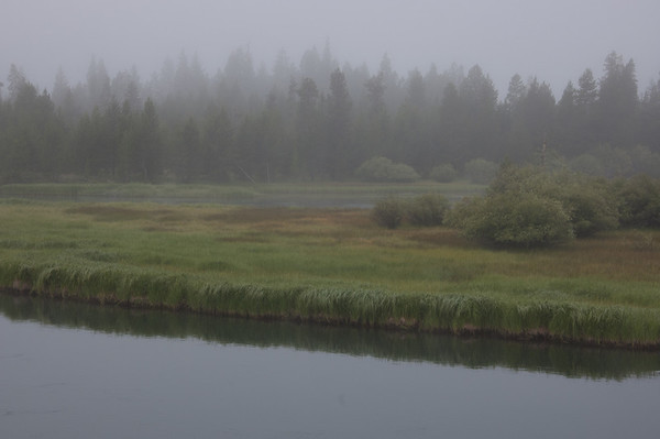 fog over the deschutes