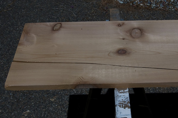 cracked board
