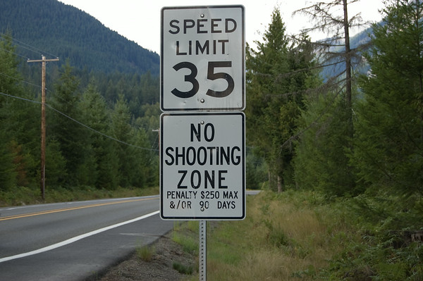no shooting zone