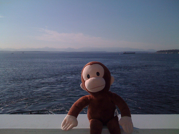 curious george and the Olympic Mountains