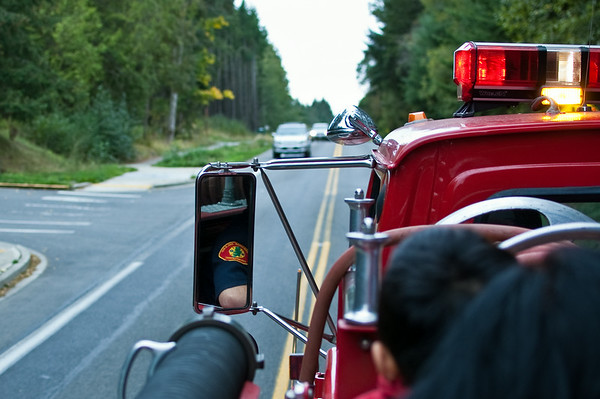 Bainbridge Island Fire Department's annual pancake breakfast and firetruck ride